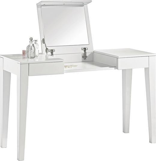 SCHMINKTISCH in Weiß - Weiß, Design, Holzwerkstoff (125/75/120/45cm) - Xora