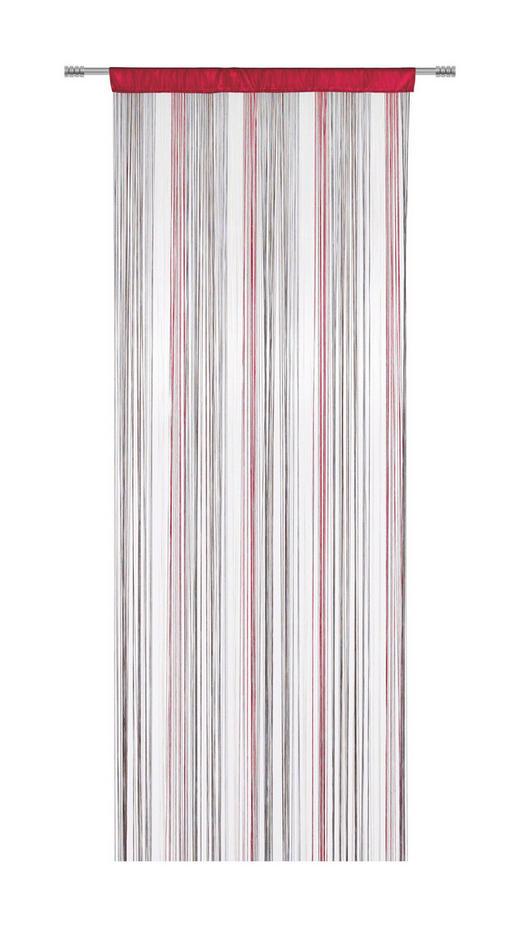 FADENSTORE  transparent  90/245 cm - Rot/Braun, Basics, Textil (90/245cm) - BOXXX