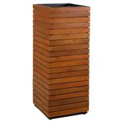 BLUMENSÄULE - Akaziefarben, MODERN, Holz/Kunststoff (43,5/115/43,5cm) - Ambia Garden