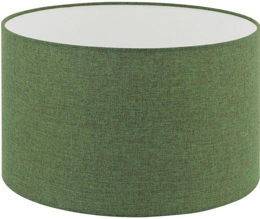 LEUCHTENSCHIRM  Grün  Textil  E27 - Grün, Design, Textil (38/22cm) - Marama