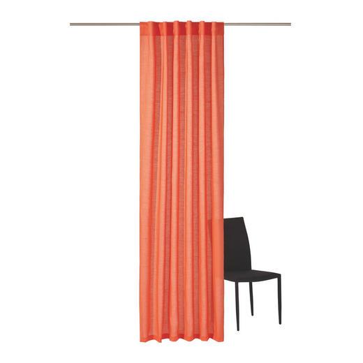 FERTIGVORHANG  blickdicht   135/245 cm - Orange, Basics, Textil (135/245cm) - Ambiente