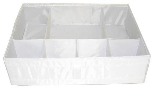 FALTBOX - Weiß, Basics, Kunststoff (33/11/44cm)
