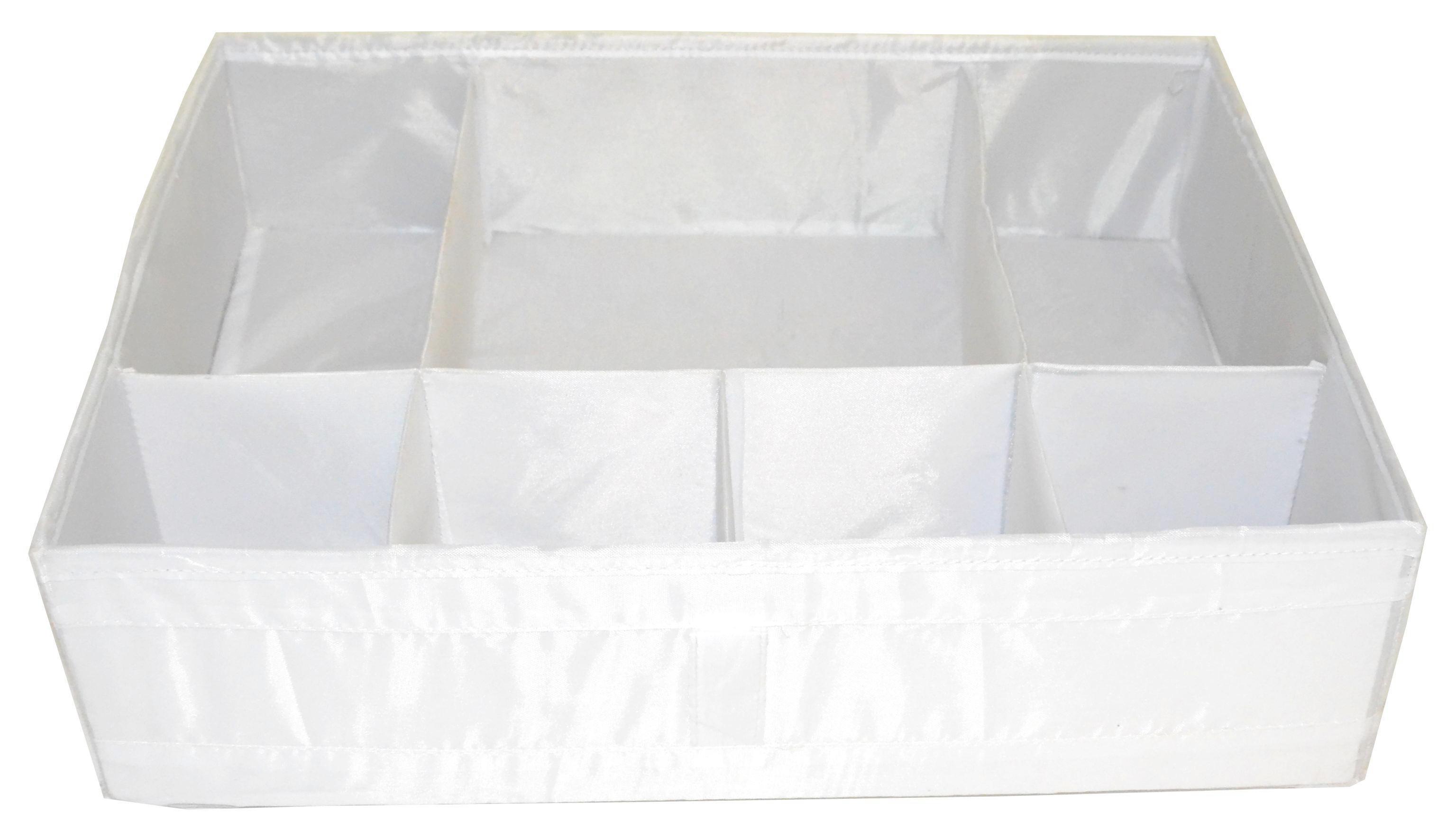 SKLOPIVA KUTIJA - bijela, Konvencionalno, plastika (33/11/44cm)