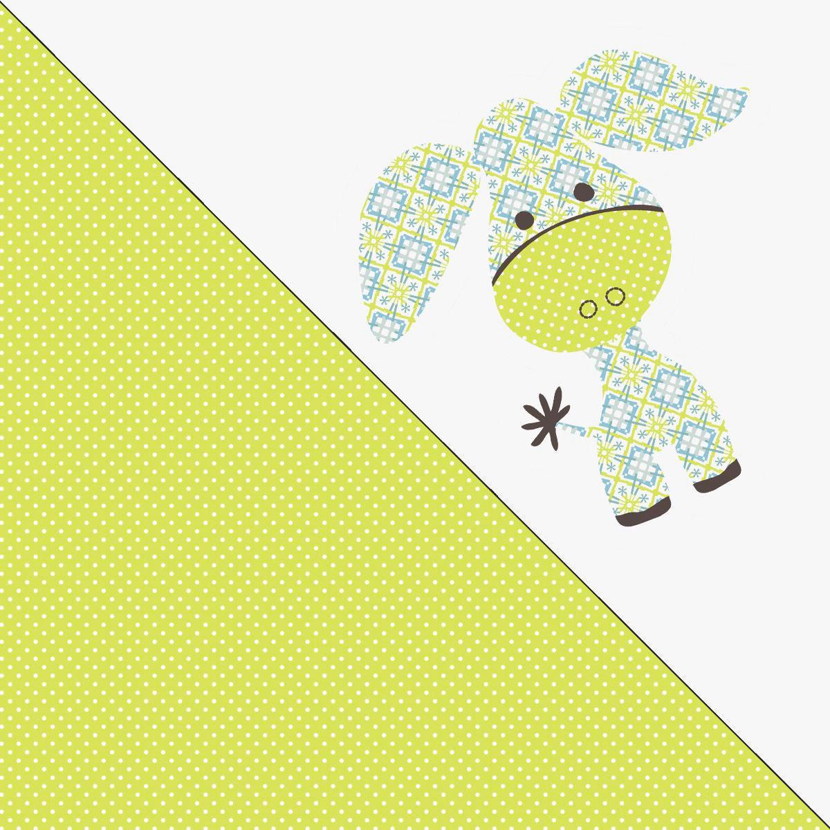 JASTUK ZA DOJENJE - bijela/žuta, tekstil (38/190cm)