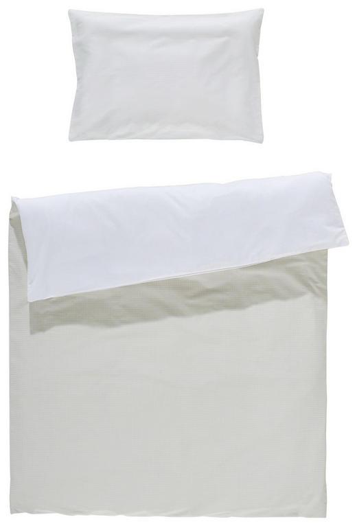 KINDERBETTWÄSCHE Beige, Weiß 100/135 cm - Beige/Weiß, Basics, Textil (100/135cm) - My Baby Lou