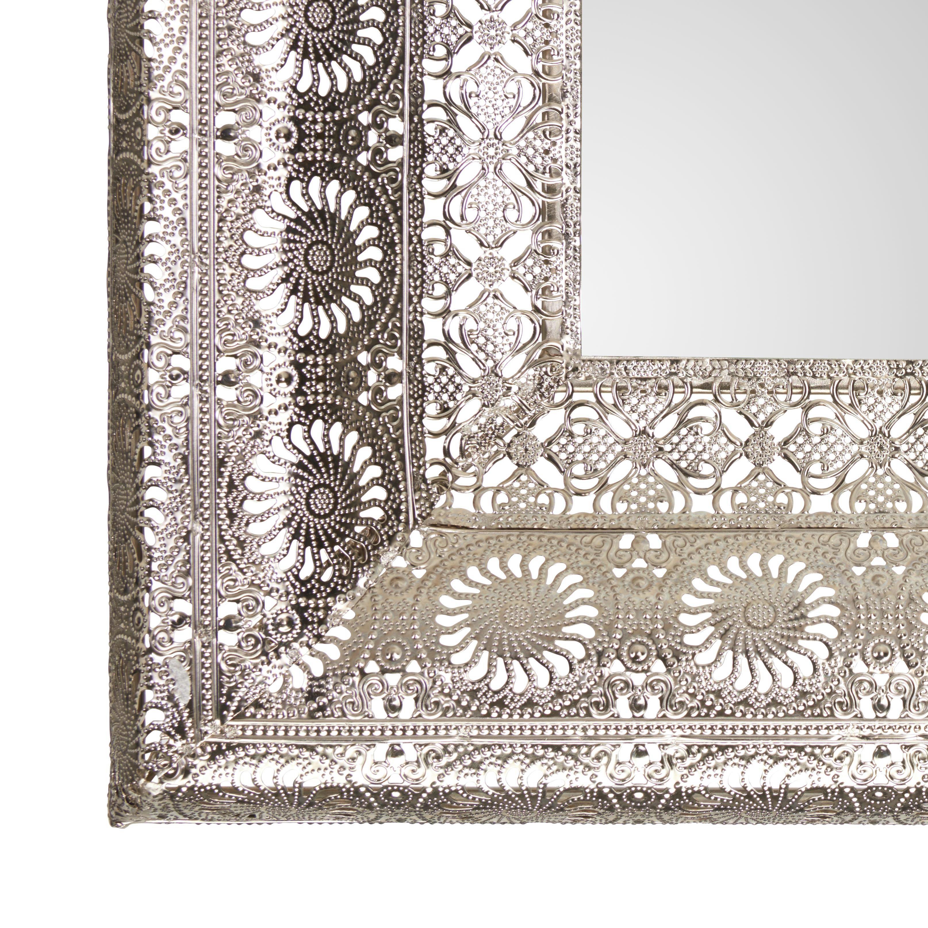 SPIEGEL - Silberfarben, LIFESTYLE, Glas/Metall (80/160/6cm) - LANDSCAPE