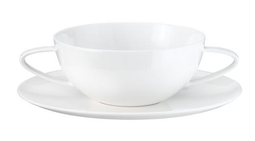 SUPPENTASSE Fine Bone China - Weiß, Basics (13cm) - ASA