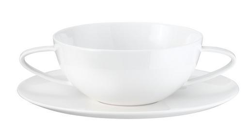 SUPPENTASSE Fine Bone China - Weiß, Basics, Keramik (13cm) - ASA