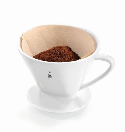 KAFFEEBEREITER - Weiß, Basics, Keramik (14,0/14,0cm) - Gefu