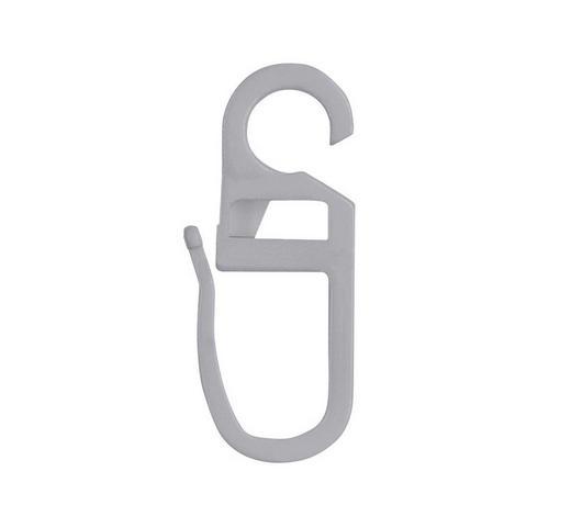 FALTENHAKEN - Grau, Basics, Kunststoff (0.6/3.1cm) - Homeware