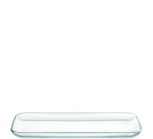 SERVÍROVACÍ PODNOS - čiré, Basics, sklo (33/2,2/16,5cm) - Leonardo