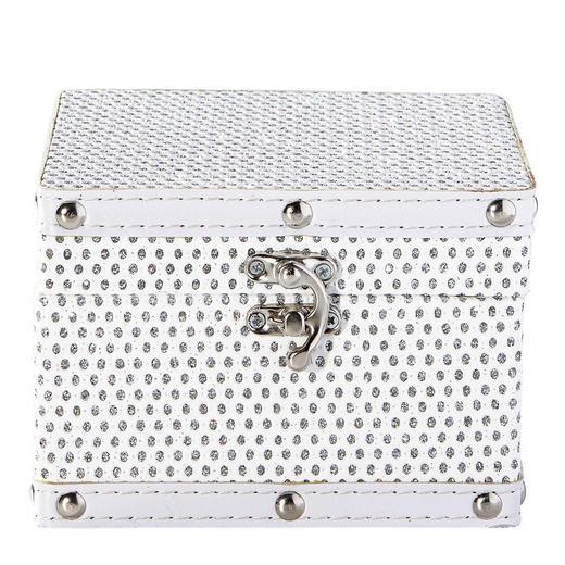 DEKOBOX - Weiß, Basics, Holz/Kunststoff (14/10/14cm) - Ambia Home