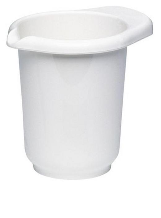 RÜHRSCHÜSSEL - Weiß, Basics, Kunststoff (1,2l) - EMSA