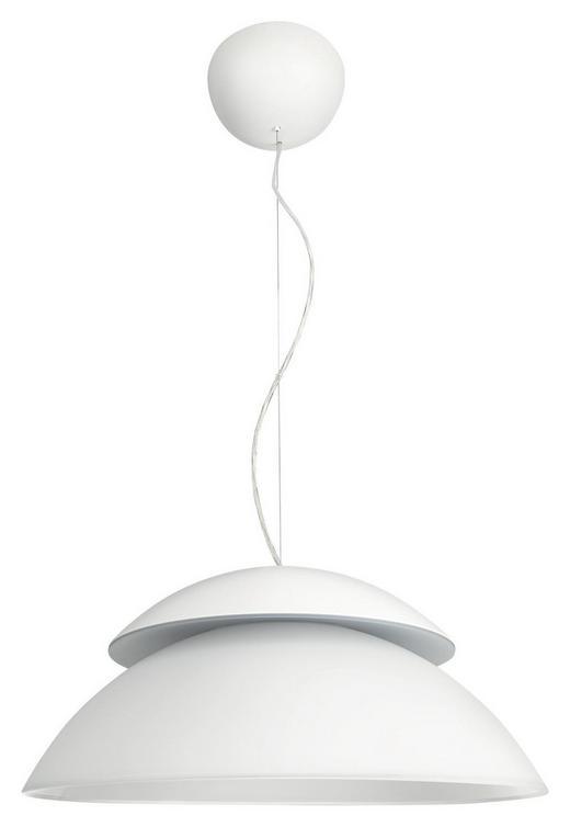 LED-HÄNGELEUCHTE HUE BEYOND - Weiß, Design, Glas/Metall (45/220cm) - Philips
