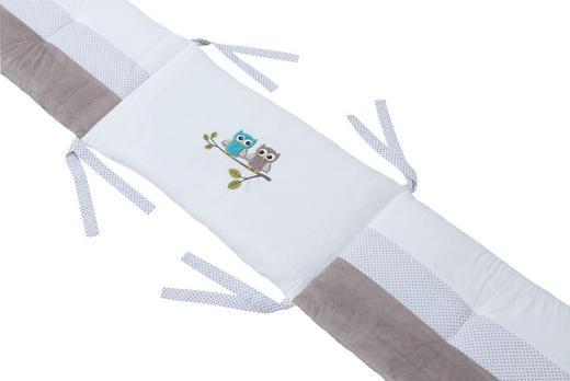 NESTCHEN Creme, Taupe - Taupe/Creme, Basics, Textil (75/10/42cm) - Bebe's Collection