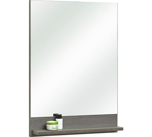 SPIEGEL  - Graphitfarben, KONVENTIONELL, Glas/Holzwerkstoff (50/70/10cm) - Xora