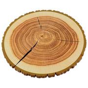 PLATZTELLER  30 cm - Naturfarben, Natur, Holz (30cm) - Ambia Home