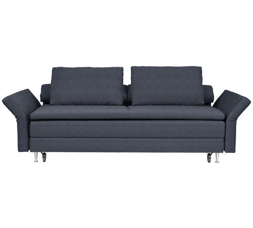 SCHLAFSOFA in Textil Dunkelblau - Dunkelblau, MODERN, Textil (220/100/98cm) - Joka