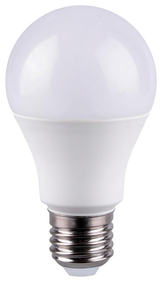 LED-Leuchtmittel E27 - Weiß, Basics, Kunststoff/Metall (6/10,8cm) - Boxxx