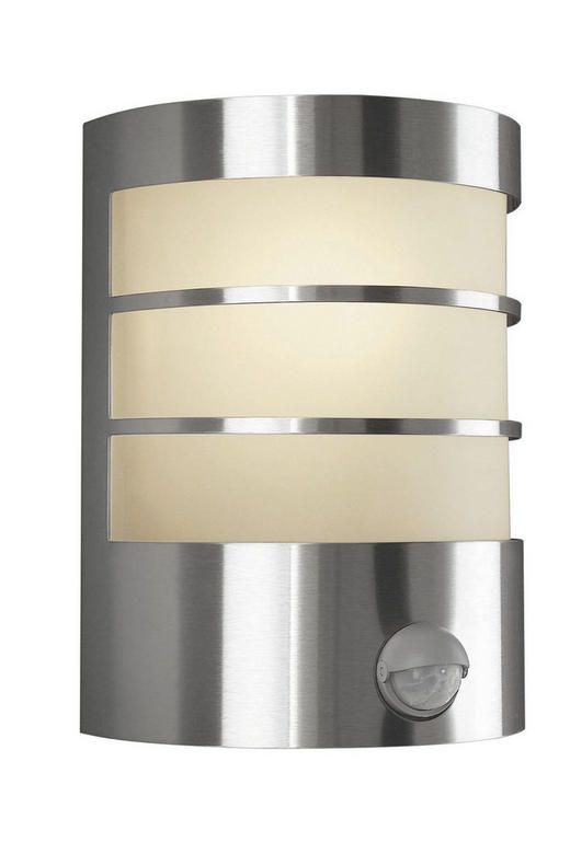 AUßENLEUCHTE Edelstahlfarben - Edelstahlfarben, Basics, Metall (14/19cm) - Philips