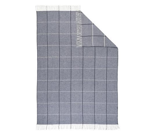 WOHNDECKE 150/200 cm  - Grau, KONVENTIONELL, Textil (150/200cm) - Novel