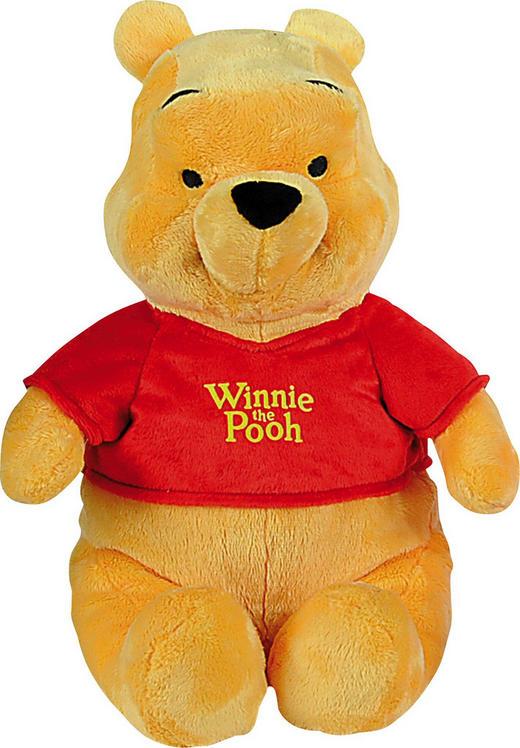 PLÜSCHTIER WINNIE POOH 25CM Winnie Pooh - Gelb/Rot, Basics, Textil (25cm) - Disney
