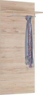 GARDEROBENPANEEL - Eichefarben, KONVENTIONELL, Holzwerkstoff (65/154/26cm) - BOXXX