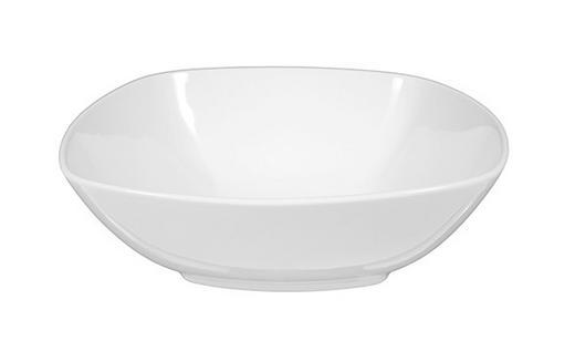 SCHÜSSEL Keramik Porzellan - Weiß, Basics, Keramik (24/24cm) - Seltmann Weiden