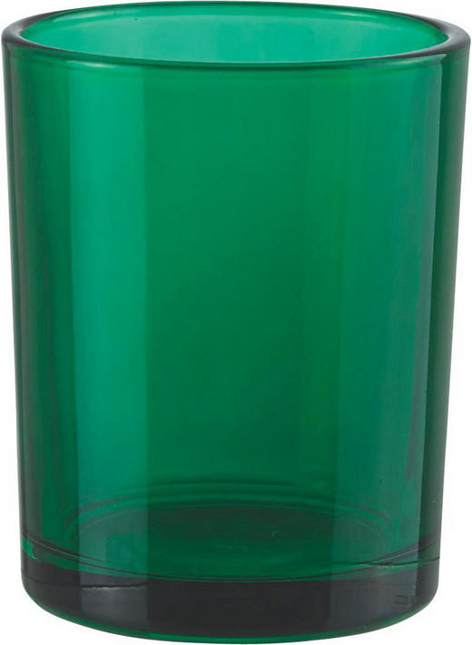 TEELICHTGLAS - Grün, Basics, Glas (5.5/6.5cm)