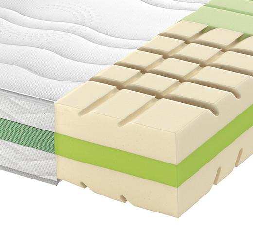 Partnermatratze Kaltschaum ROAD 290 COMFEEL PLUS 180/200 cm - Weiß, Basics, Textil (180/200cm) - Schlaraffia