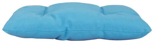 Sitzkissen Elli - Blau, KONVENTIONELL, Textil (40/40/7cm) - Ombra