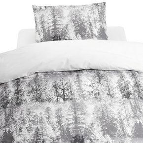 PÅSLAKANSET - vit/antracit, Basics, textil (150/210cm)