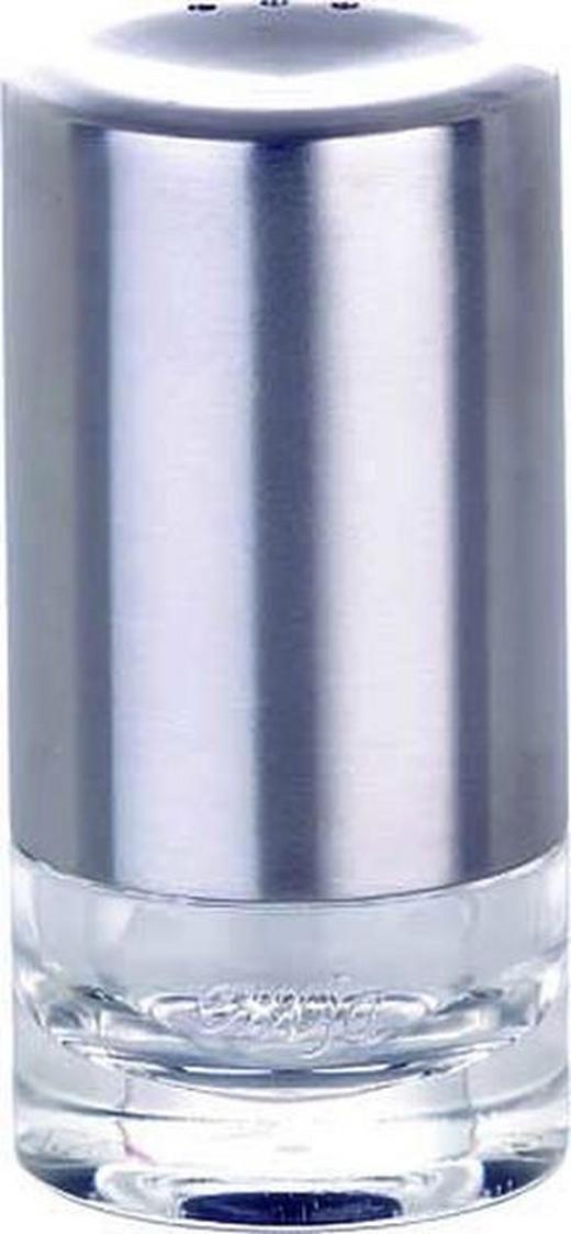 SALZ- UND PFEFFERSTREUER - Klar/Edelstahlfarben, Basics, Kunststoff/Metall - EMSA