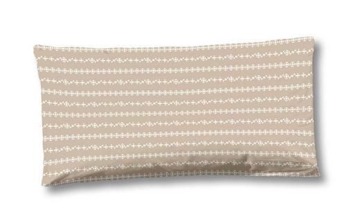 KISSENHÜLLE Sandfarben 80/40 cm - Sandfarben, LIFESTYLE, Textil (80/40cm)