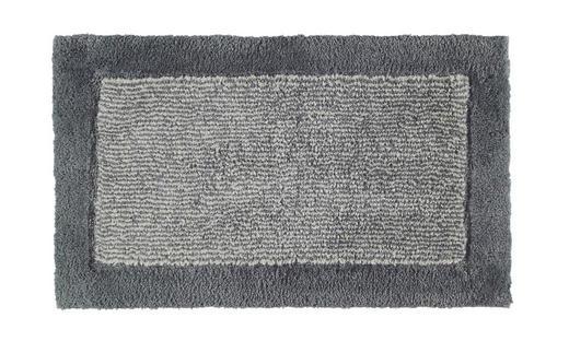 BADTEPPICH  Schieferfarben  60/100 cm - Schieferfarben, Design, Textil (60/100cm) - Cawoe