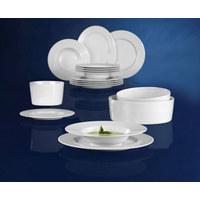 SCHÜSSEL Keramik Porzellan  - Weiß, Basics, Keramik (24/8cm) - Seltmann Weiden