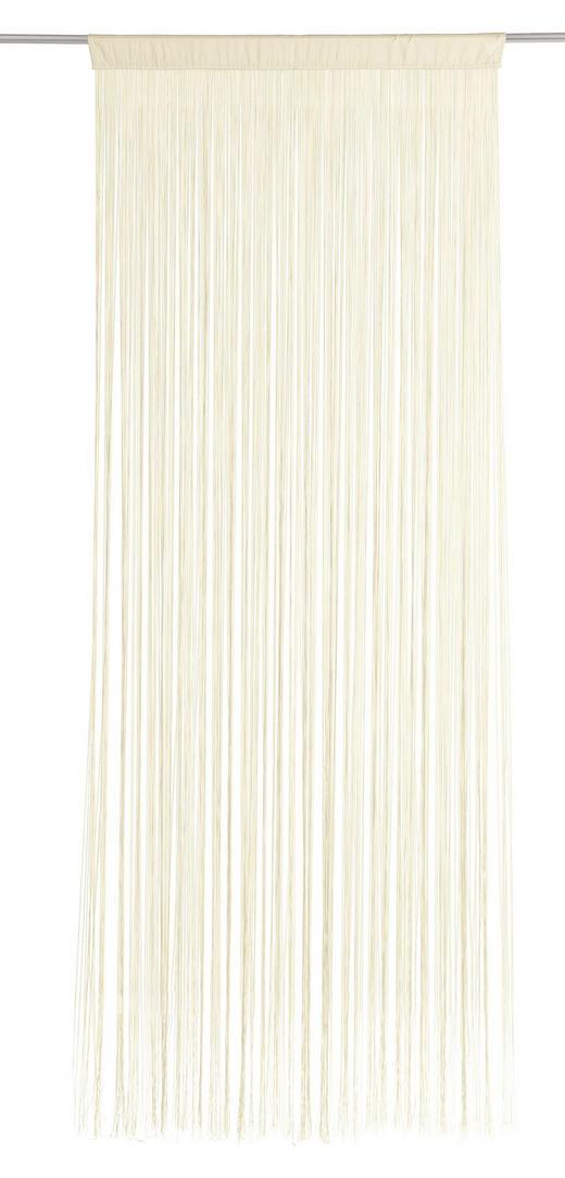 TRÅDGARDIN - naturfärgad, Basics, textil (90/245cm) - BOXXX
