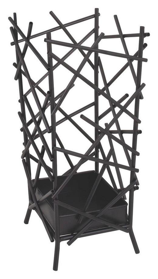 STALAK ZA KIŠOBRANE - antracit, Design, metal (21/47/21cm)