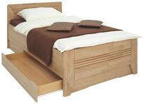 BETT Erle massiv 100/200 cm - Erlefarben, Basics, Holz (100/200cm) - Venda