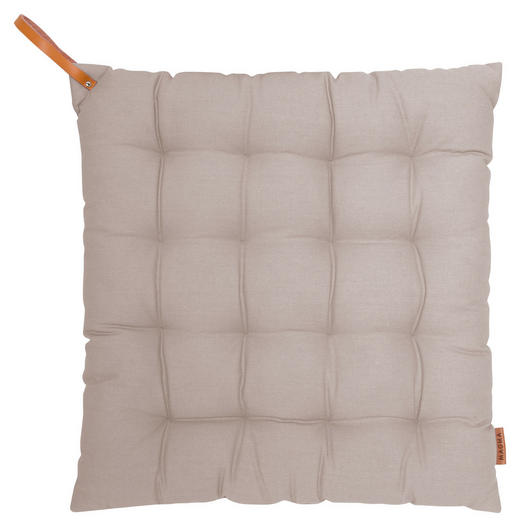 STUHLKISSEN Taupe 40/40/4 cm - Taupe, Textil (40/40/4cm)