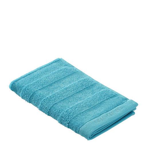 GÄSTETUCH Blau 30/50 cm - Blau, Basics, Textil (30/50cm) - Linea Natura