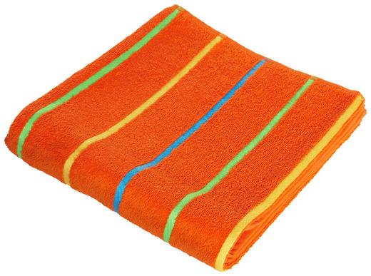 DUSCHTUCH 70/130 cm - Orange, Trend, Textil (70/130cm) - Ben'n'jen