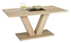 ESSTISCH in Holzwerkstoff 135/80/75,5 cm   - Sonoma Eiche, KONVENTIONELL, Holzwerkstoff (135/80/75,5cm) - Carryhome