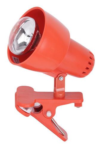 SVETILKA S SPONKO 4358 - oranžna, Konvencionalno, umetna masa (15/10,5cm)