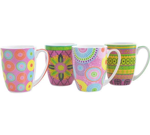 KAFFEEBECHER 380 ml  - Multicolor, Basics, Keramik (0,38l) - Homeware