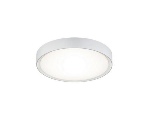 BADEZIMMER-DECKENLEUCHTE - Weiß, KONVENTIONELL, Kunststoff/Metall (33,0/9,0cm)