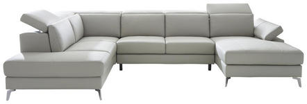 Grau Silber Polstermobel Wohnzimmer Kollektion Xora