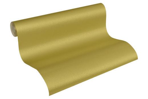 VLIESTAPETE 10,05 m - Goldfarben, LIFESTYLE, Textil (53/1005cm)