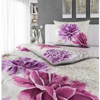 POSTELJNINA ED 554 - roza/svetlo siva, Trendi, tekstil (140/200cm) - Esposa