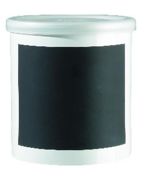 VORRATSDOSE - Weiß, Basics, Keramik/Kunststoff (13.5/14.0cm) - ASA
